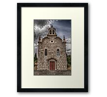 Old Church HDR Framed Print