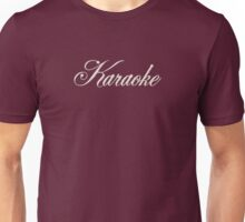 Classic  Karaoke White Unisex T-Shirt