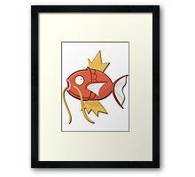 Magikarp! Framed Print