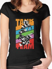 OVERWATCH TANK TEAM Women's Fitted Scoop T-Shirt