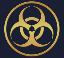 Golden Biohazard Kids Tee
