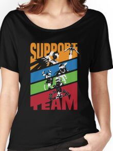 OVERWATCH SUPPORT TEAM Women's Relaxed Fit T-Shirt