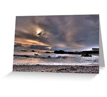 Oregon beaches Greeting Card