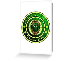 Saint Izaak's Green Ale Greeting Card