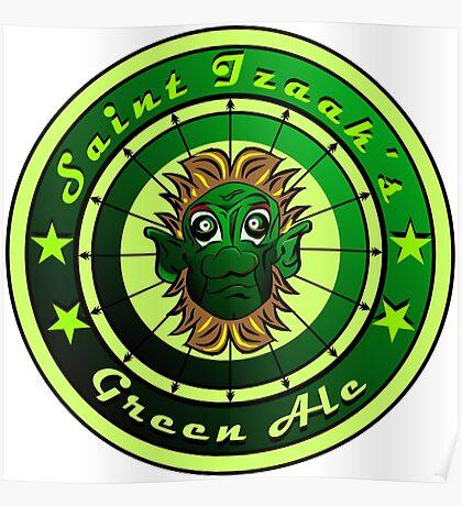 Saint Izaak's Green Ale Poster