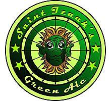 Saint Izaak's Green Ale Photographic Print