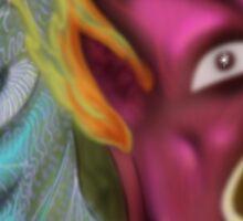 Daily Spirit Paintings 04/12/16 Sticker