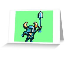 Shovel knight by triangles Greeting Card
