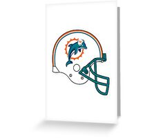miami dolphin Greeting Card