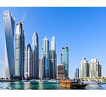 Dubai Marina Walk Photographic Print