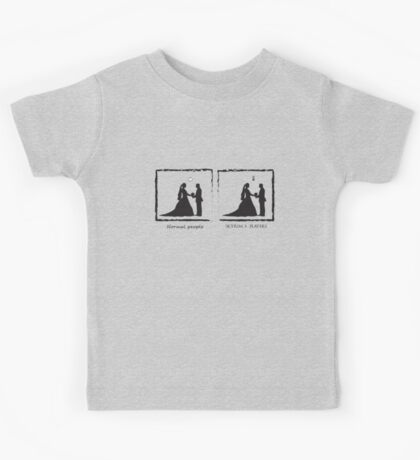 Just Married Kids Tee