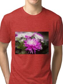 Chrysanthemum flower  Tri-blend T-Shirt