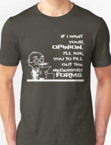 Forms Unisex T-Shirt