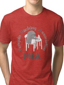The Penguin Hacking Association Tri-blend T-Shirt