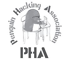 The Penguin Hacking Association Photographic Print