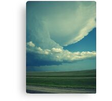Tornado On Its Way. Canvas Print