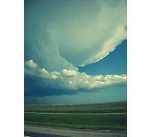 Tornado On Its Way. Photographic Print