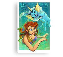 Ariel's Pokemon Canvas Print