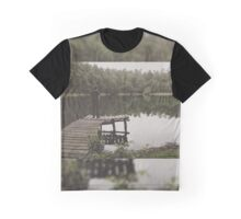 Loneliness by the lake Graphic T-Shirt