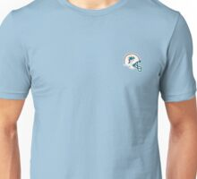 miami dolphins helm Unisex T-Shirt