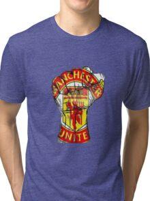 Manchester United Fans Tri-blend T-Shirt