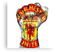 Manchester United Fans Canvas Print