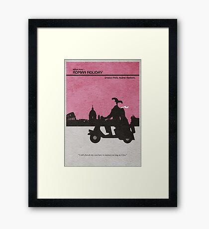 Roman Holiday Framed Print