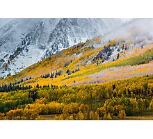A Fall Hillside Photographic Print