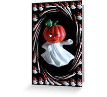 ╭∩╮( º.º )╭∩╮SMILING-WINKING-PUMPKIN BLANK CARD & OR PICTURE SERIES TWO╭∩╮( º.º )╭∩╮ Greeting Card