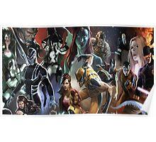 Marvel Super heroes/villains Poster