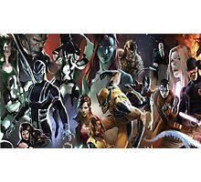 Marvel Super heroes/villains Photographic Print