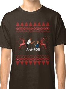 "Merry ""Aaron"" Christmas Classic T-Shirt"