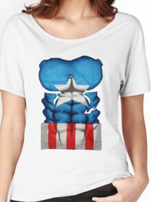 captain amerika Women's Relaxed Fit T-Shirt