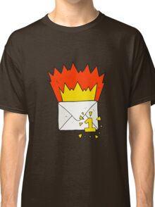 cartoon email message Classic T-Shirt