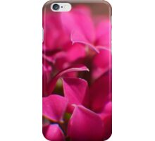 Tiny Magenta Blossoms iPhone Case/Skin