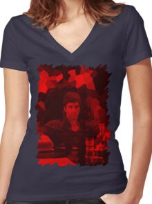 Al pacino - Celebrity Women's Fitted V-Neck T-Shirt
