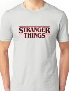 Stranger Things Classic Title  Unisex T-Shirt