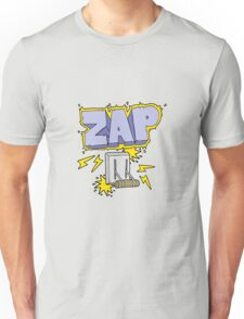 cartoon electrical switch zapping Unisex T-Shirt