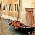 Lonely Gondola by phil decocco