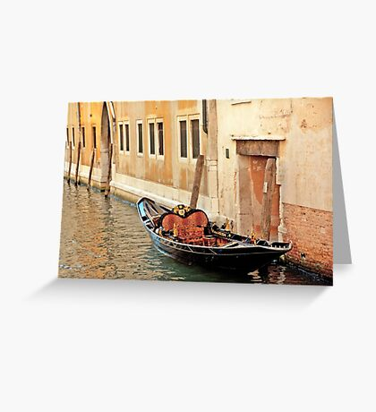 Lonely Gondola Greeting Card