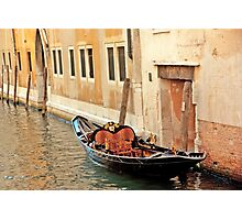 Lonely Gondola Photographic Print