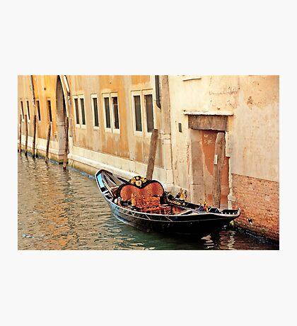 Lonely Gondola Photographic Print