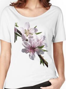Peach Blossoms Women's Relaxed Fit T-Shirt