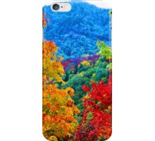 MAPLE TREES,BLUE RIDGE PARKWAY iPhone Case/Skin