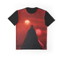 Star Wars Darth Vader Tatooine Sunset  Graphic T-Shirt