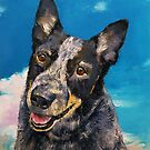 Blue Heeler by Michael Creese