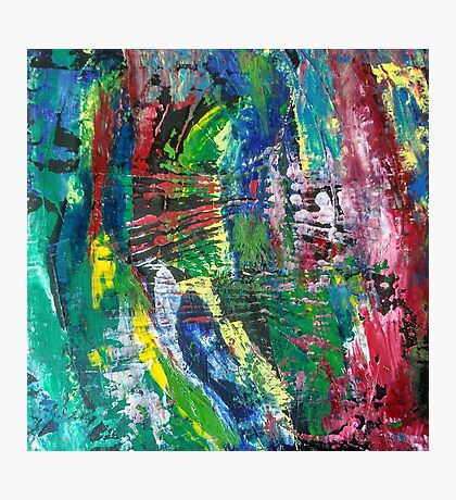 Abstract painting 10 Photographic Print