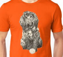 Cockapoo with a ball (Orange) Unisex T-Shirt