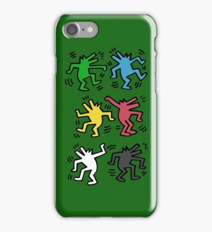 Lets Dance - HARING iPhone Case/Skin