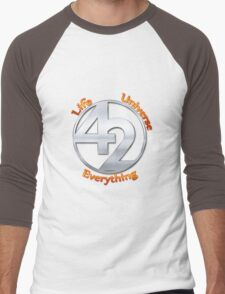 42 - The Ultimate Answer Men's Baseball ¾ T-Shirt